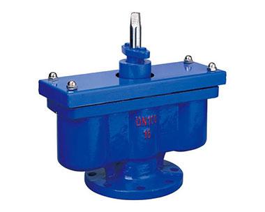 QB2 double port exhaust valve