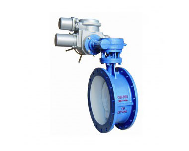 D941H electric flange butterfly valve