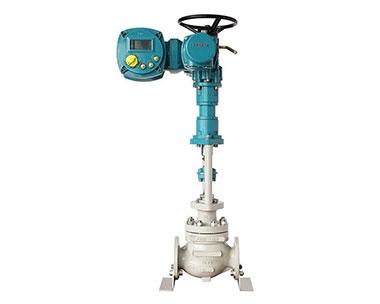 Electric explosion-proof control valve