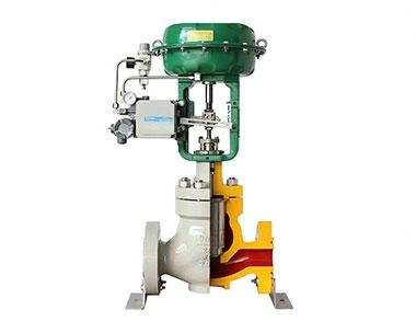 Pneumatic high pressure control valve