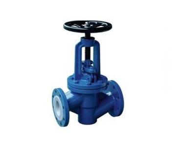J41F fluorine lined globe valve