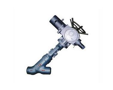 Power station welding stop valve