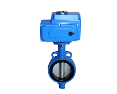 D971X Wafer Electric Butterfly Valve
