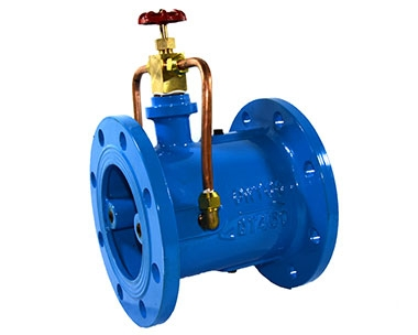 HH49X micro resistance slow closing check valve