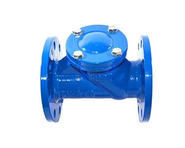 HQ41X spherical sewage check valve