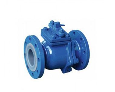 Q41F Fluorine lined ball valve