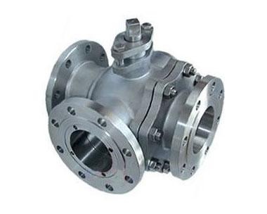 Q45H three-way ball valve
