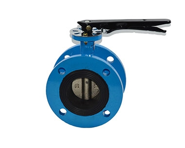 D41X handle flange butterfly valve