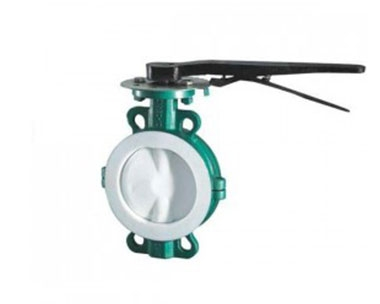 D71F46 Fully Lined Fluorine Wafer Butterfly Valve