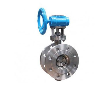 D343H two-way triple eccentric hard seal butterfly valve